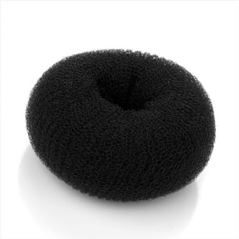 Bun Ring Maker Hair Shaper - Black - Medium